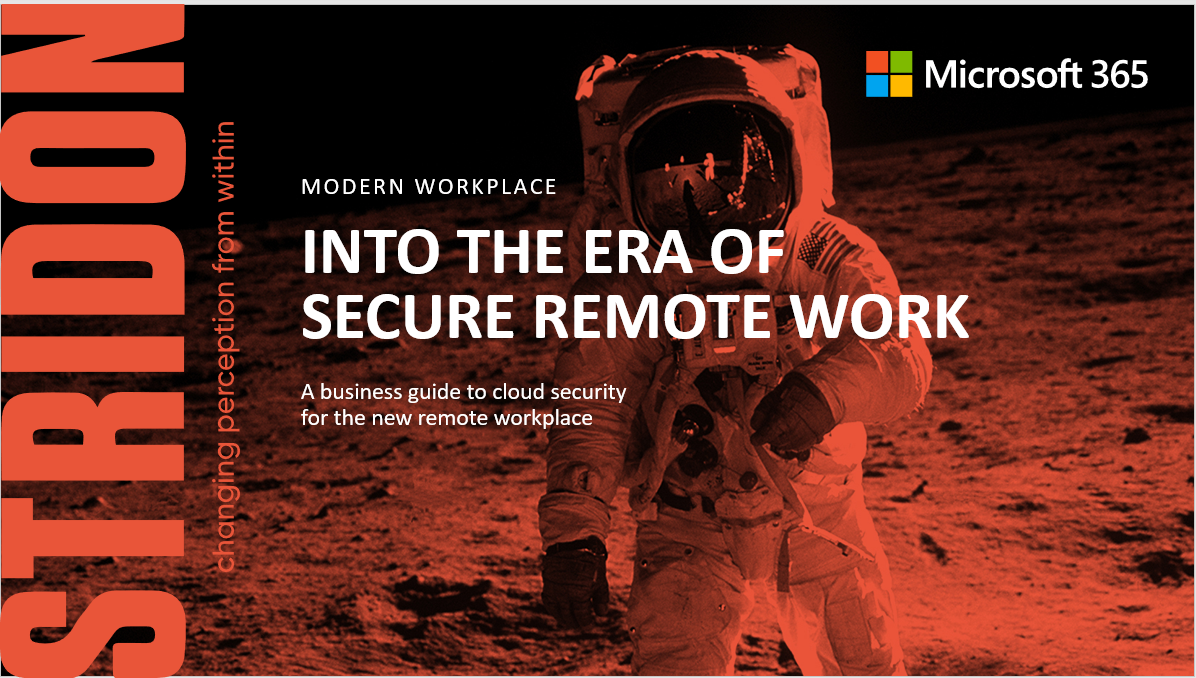 Modern Workplace Into the Era of Secure Remote Working